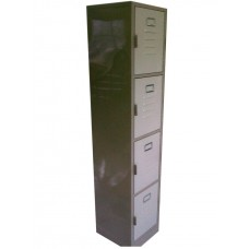 Locker de 4 compartimentos. Cod. 00024