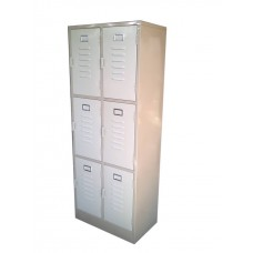 Locker de 6 compartimentos. Cod. 00135